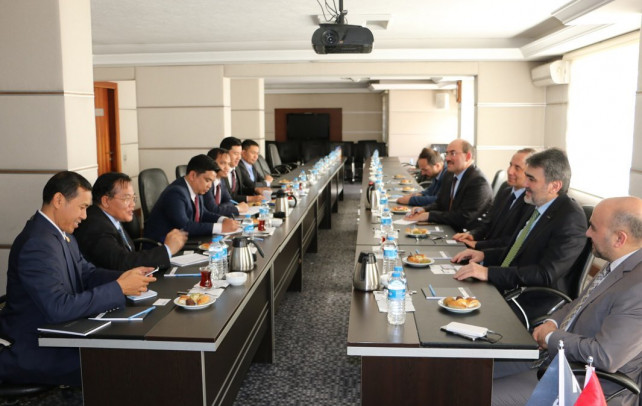 Vice Prime Minister of Cambodia visits Turkey